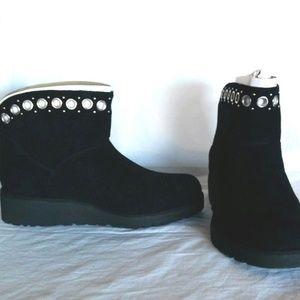 16df13c71ae UGG Shoes - NIB UGG Riley Grommet Mini Boot Bootie